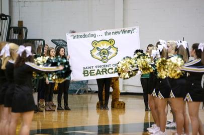 Saint Vincent College School Custom Mascot Design BearCat