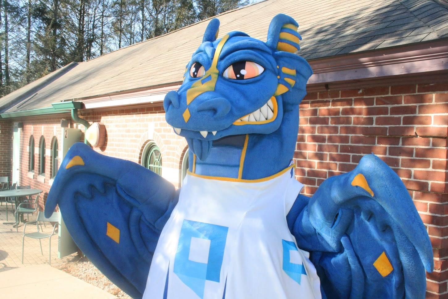A mascot costume