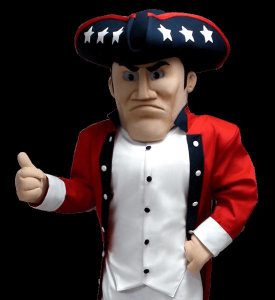 Century High School Patriot Custom Mascot