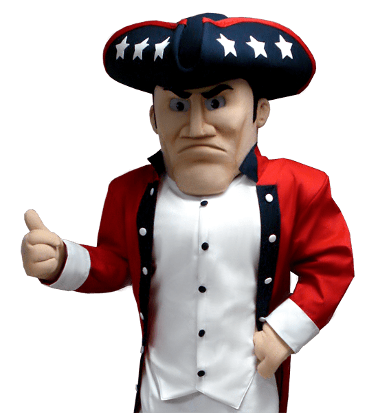 Century High School Patriot Custom Mascot