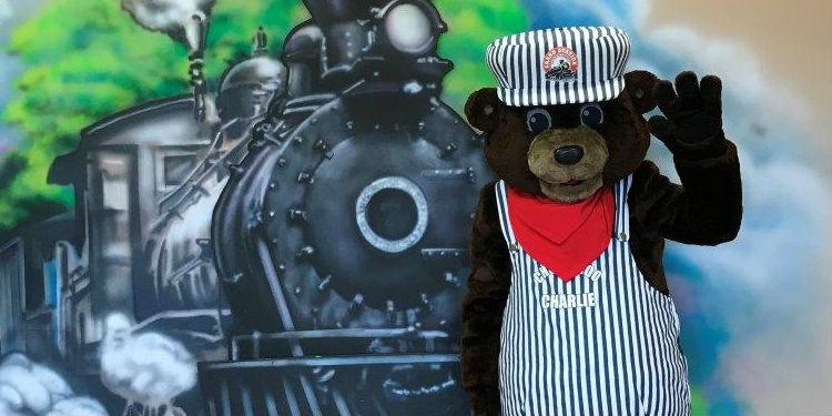 Grand Station Choo Choo Charlie mascot