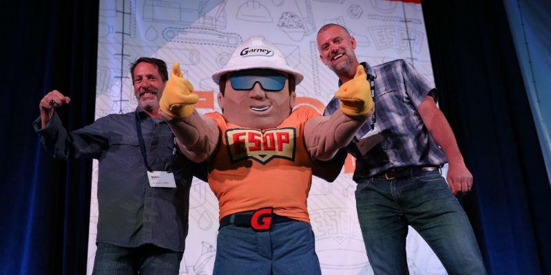 ESOP custom mascot made by BAM Mascots