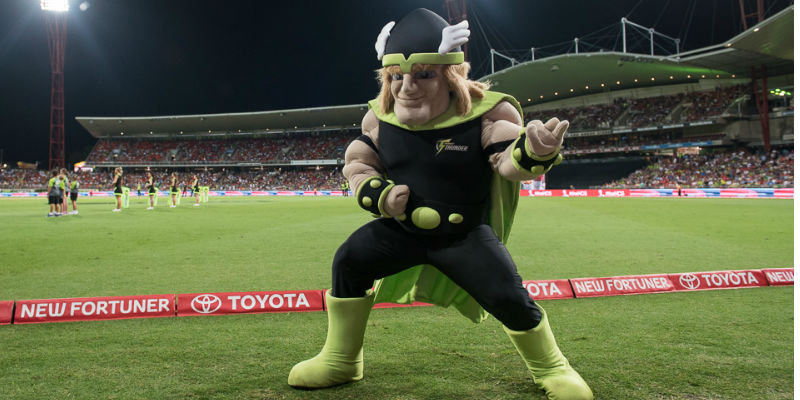 Sydney Thunder Thor mascot