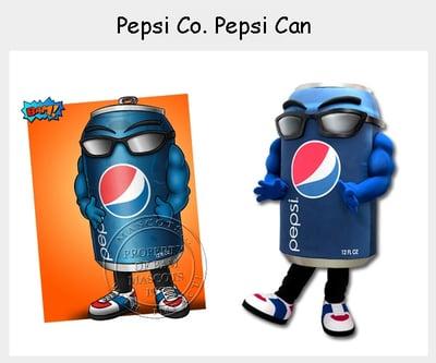 Pepsi Co - Pepsi Can Mascot