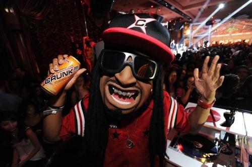 Lil Jon Mascot at Show