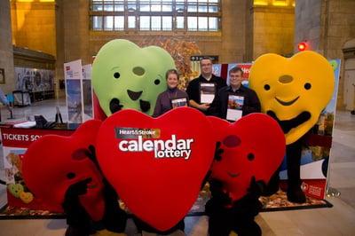 Heart and Stroke Foundation Lottery Heart Mascots