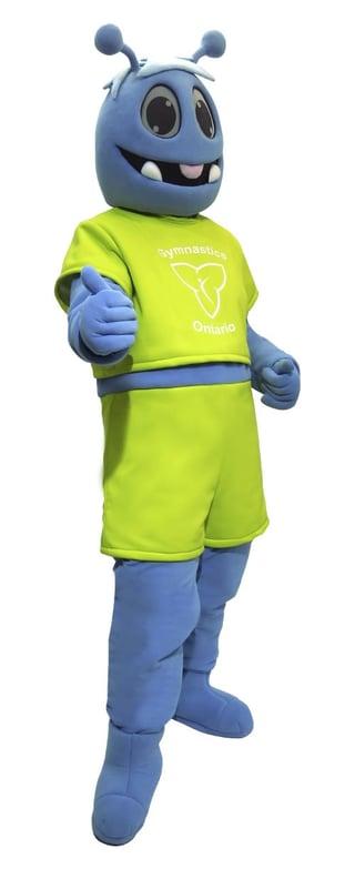 Flip Ontario Custom Mascot