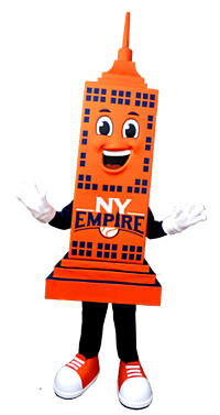 Hudson New York Empires Mascot