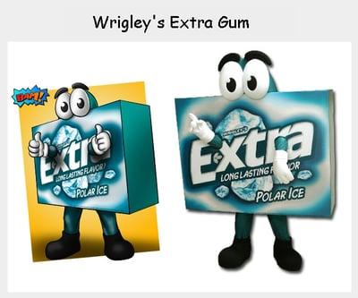 Wrigleys - Extra Gum Mascot