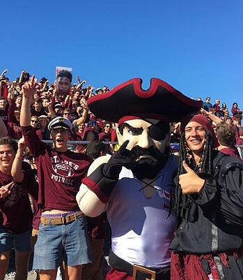 Meet the new and improved Masked Marauder Mascot