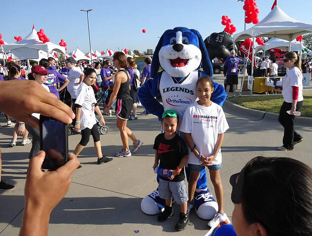 Photographing Your Mascot