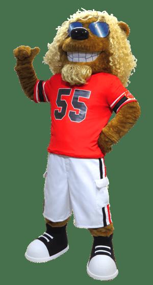 Custom Designed Sammy Hagrrr Mascot