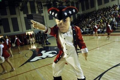 Patriot Custom School Mascot Costume