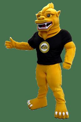 International School Yangon Chinthe Custom Mascot Costume
