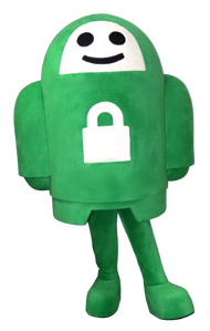 Private Internet Access Robot Mascot Completed