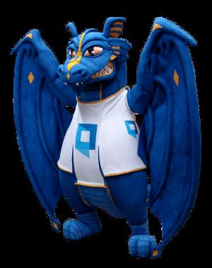 Custom Monster Dragon Mascot Creation