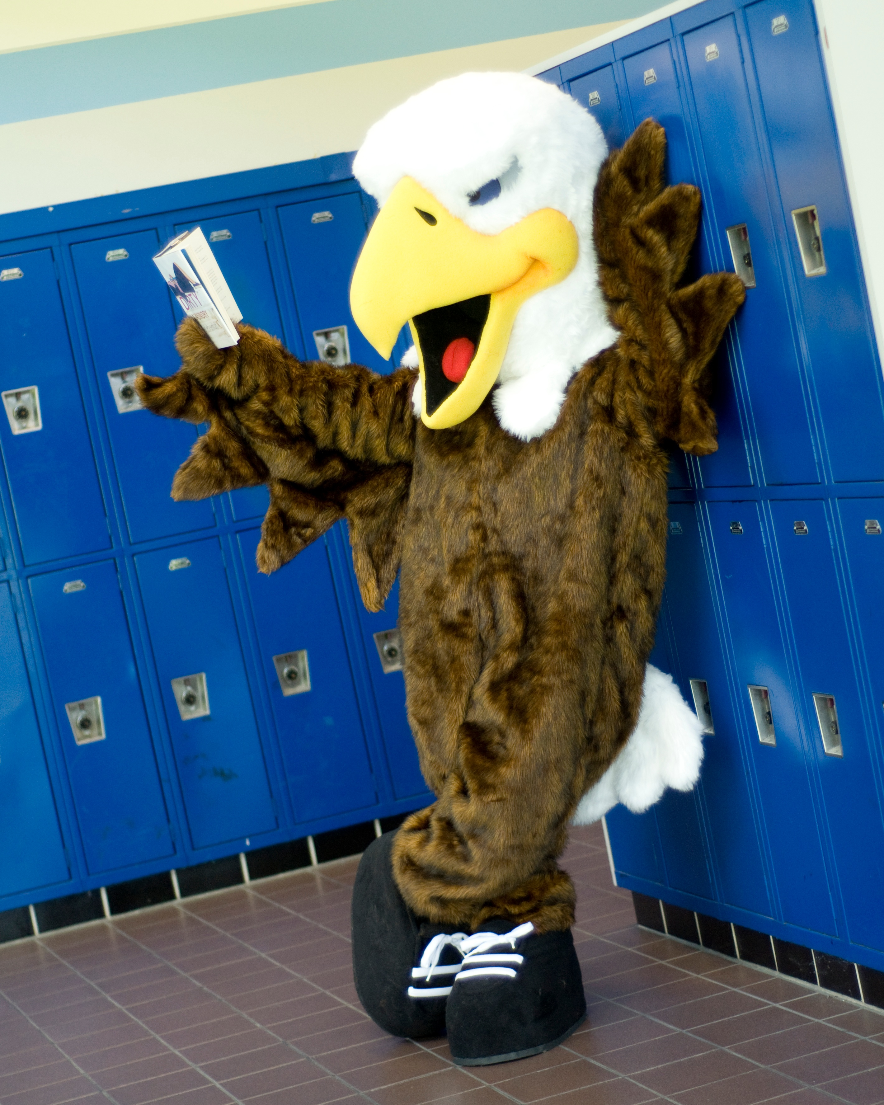 Eagle Custom Mascot For School