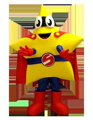 Custom Made Star Mascot