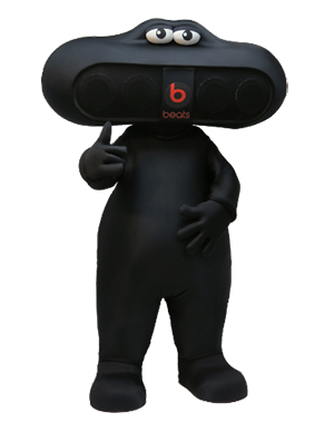 Beats By Dr. Dre Mascot Pill Creation