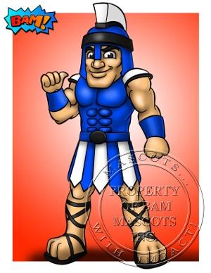 Titan Custom Concept Art Mascot