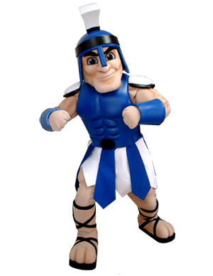 Custom Blue Titan Mascot Costume