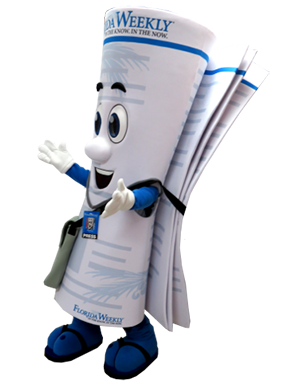 Florida Weekly Newspaper Mascot