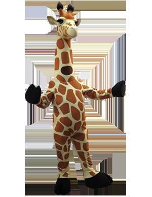 Zoo Giraffe Custom Mascot Costume