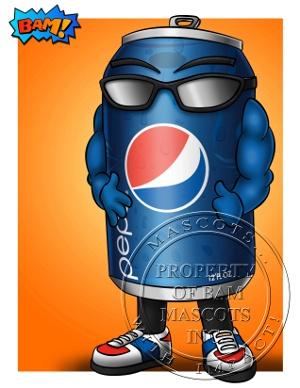 Pepsi Brand Mascot Concept