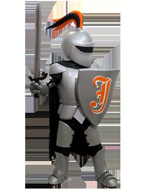 Knight Mascot For School