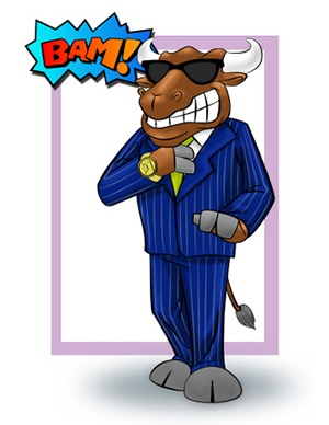 Bull Custom Mascot Concept