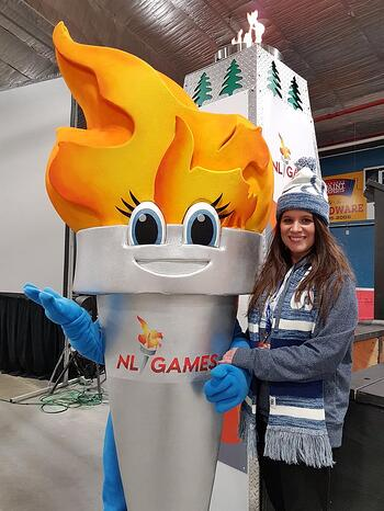 Blaze at the NL Games