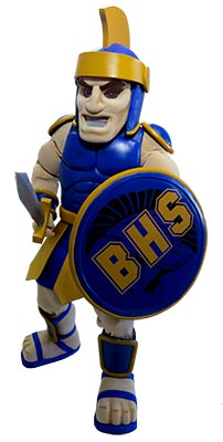 How to create a school or sports mascot