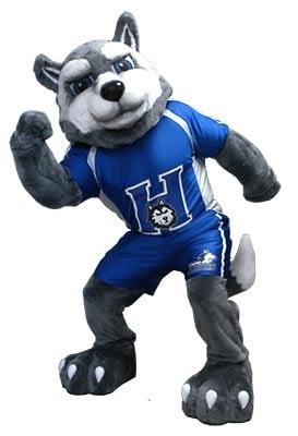 Huskey Animal Custom Mascots