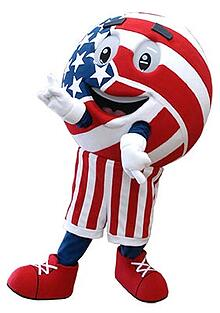 The USA Volleyball Mascot in the United States