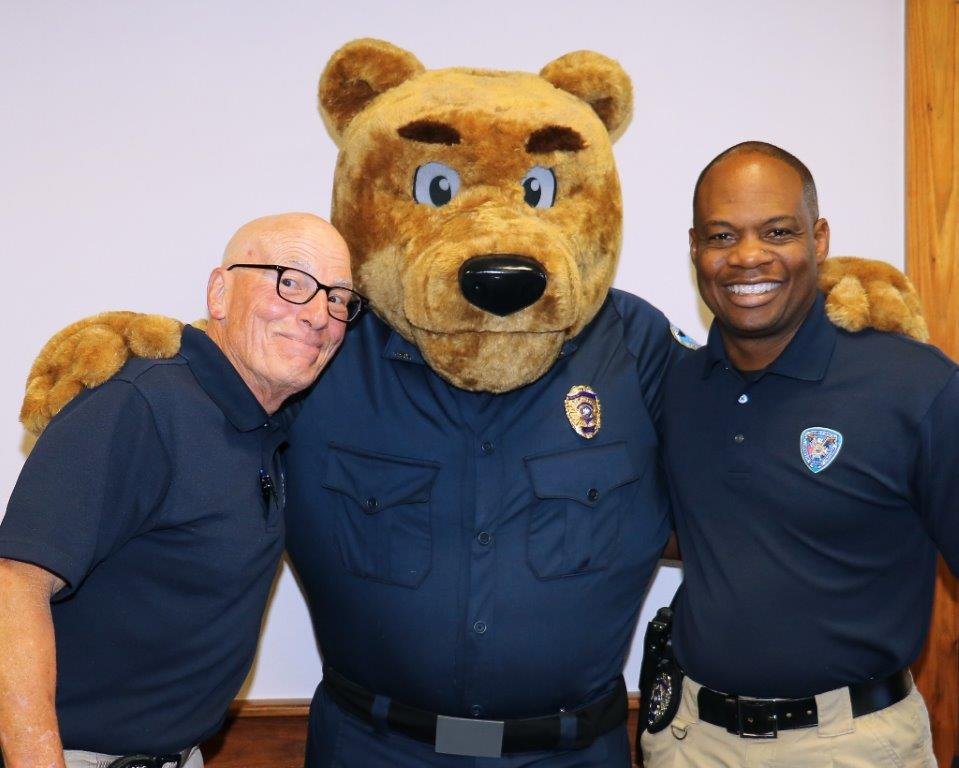 Jefferson Parish Sherrif's Office Bear mascot