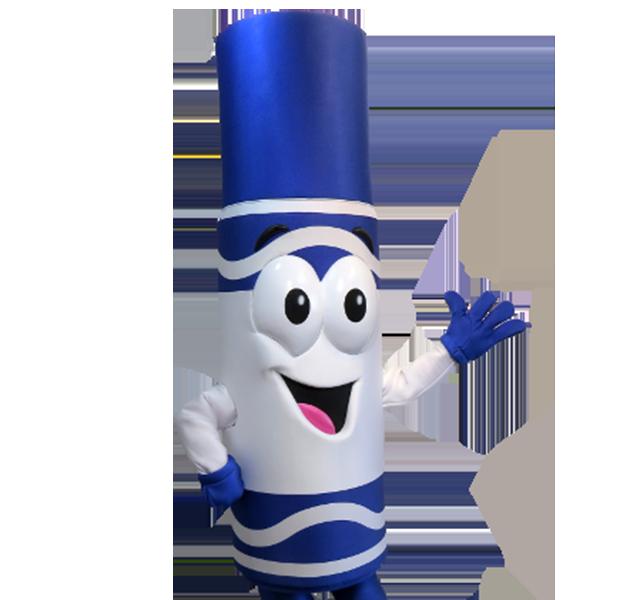 Crayola Brand Mascot