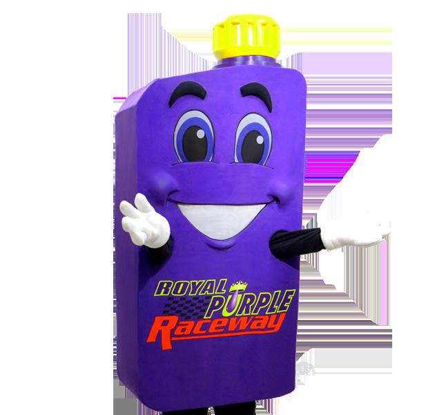 Raceway Custom Mascot Manufacturer