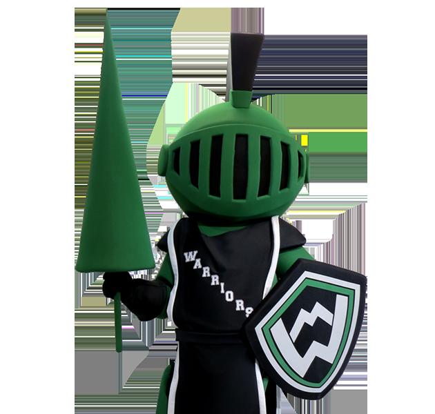 Knight Warrior Custom Mascot Manufacturer