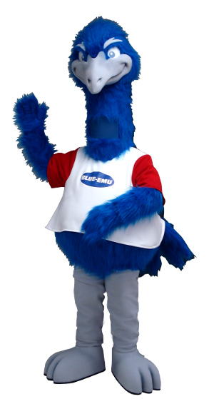 Blue Emu Mascot Creation