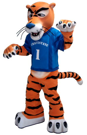 Tiger Custom Mascot Creation