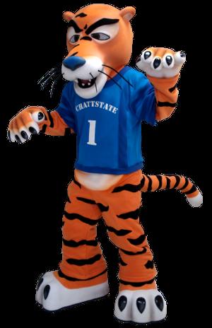 Tiger Custom Mascot Creation