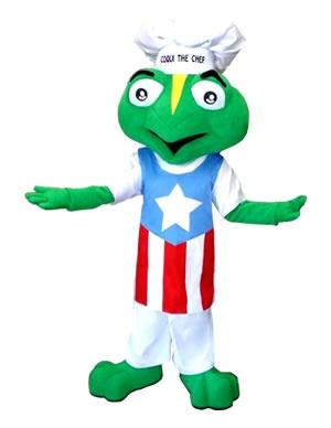 Coqui The Chef Mascot