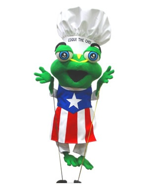 Coqui The Chef Puppet