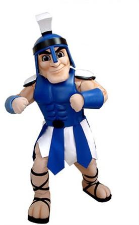 Warrior Custom Mascot