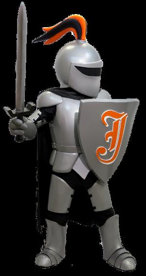 Silver Knight Custom Mascot Costume