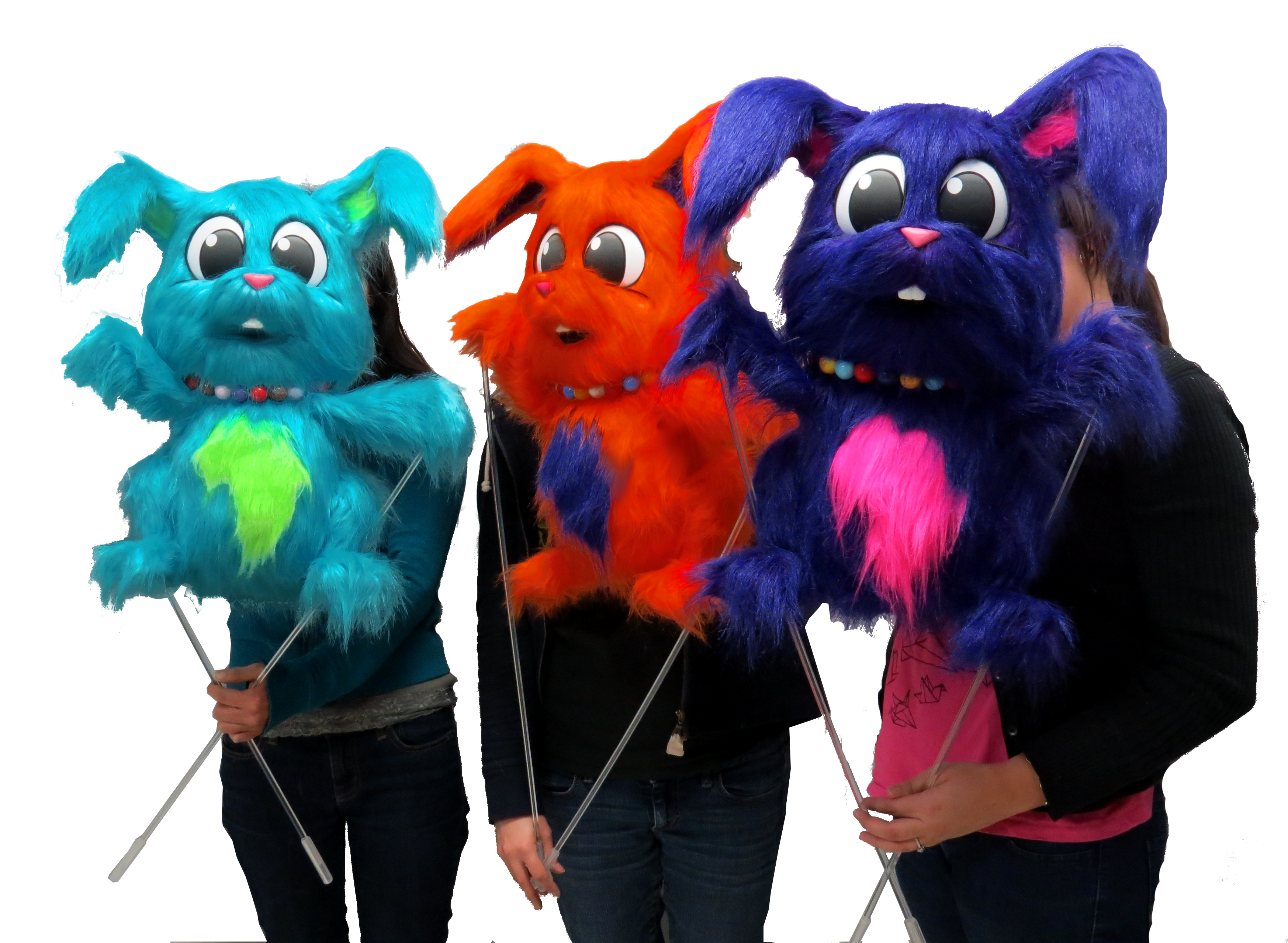 iManagement Rabbit Puppets