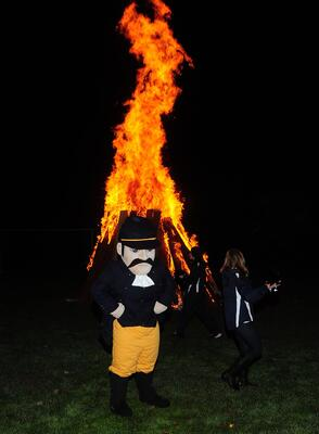 Fire can cause an odor on your mascot costume