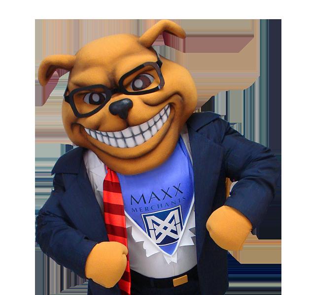 Maxx Bulldog Custom Dog Mascot