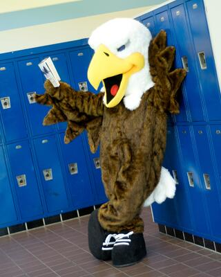 New Caney Eagle School Mascot Custom Costume