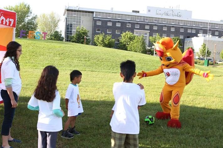 Cananda Summer Games Mascot Costume
